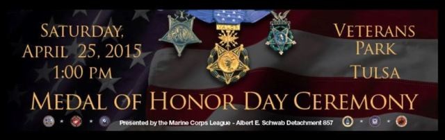 Medal of Honor Day Ceremony 2015